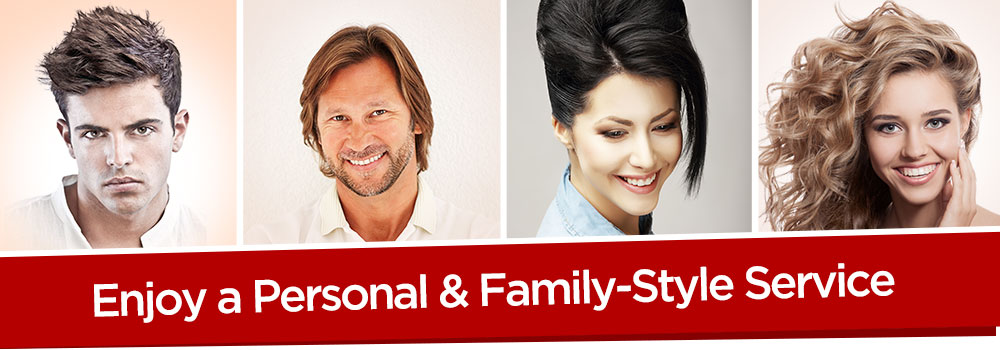 Enjoy a personal and family-style service