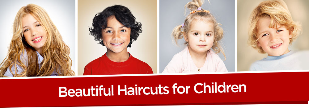 Beautiful haircuts for children