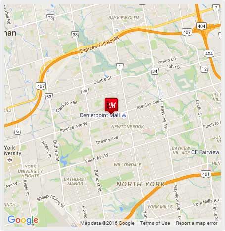 imax salon location map